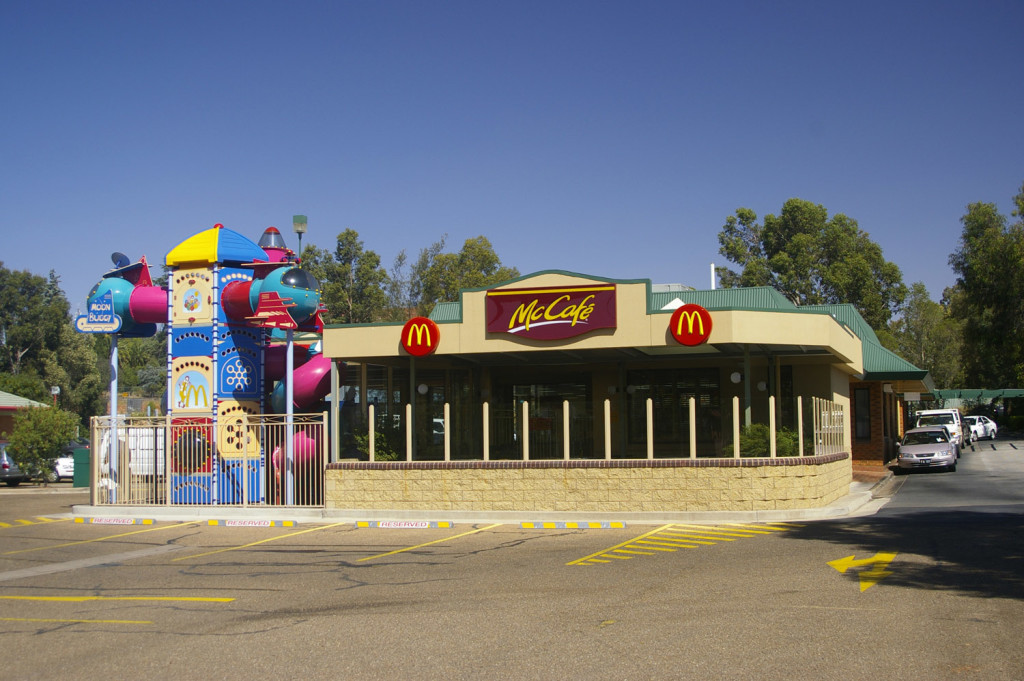 McDonalds Wagga Wagga: one of more than 900 in Australia