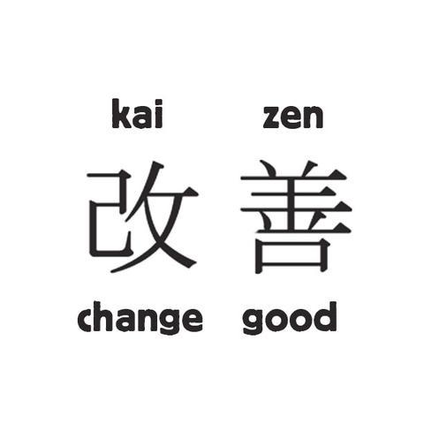 Kaizen - change good